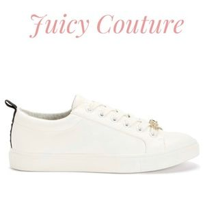 Juicy couture white sneakers with logo
